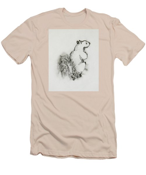 Ink Squirrel Men's T-Shirt (Athletic Fit)