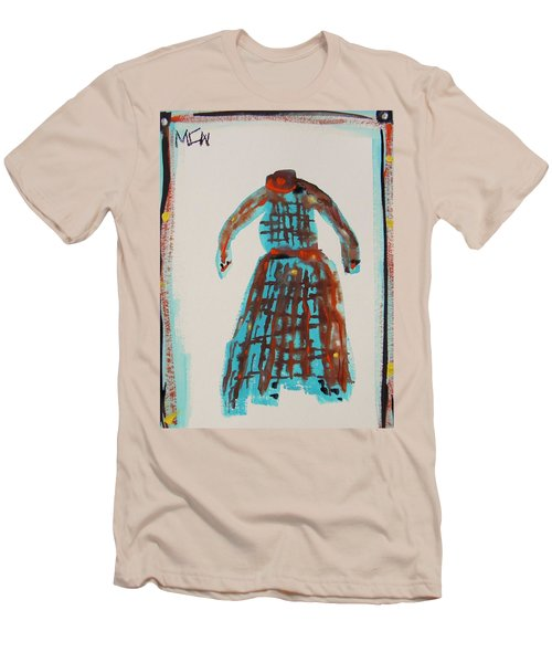 Inspired By Vuillard Men's T-Shirt (Slim Fit) by Mary Carol Williams
