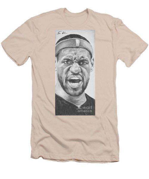 Intensity Lebron James Men's T-Shirt (Athletic Fit)