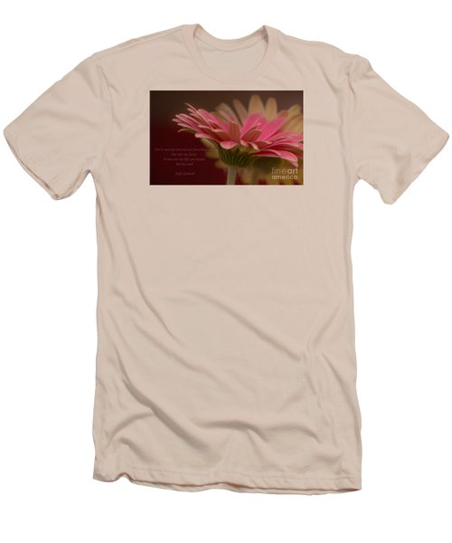Men's T-Shirt (Slim Fit) featuring the photograph Into My Soul by Rima Biswas
