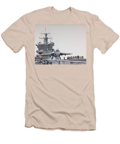 Intruder Men's T-Shirt (Slim Fit) by Stan Tenney