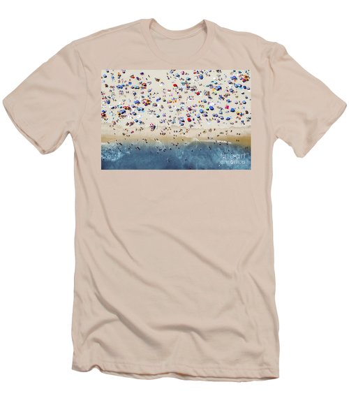 Island Beach State Park Men's T-Shirt (Slim Fit) by Mike Raabe