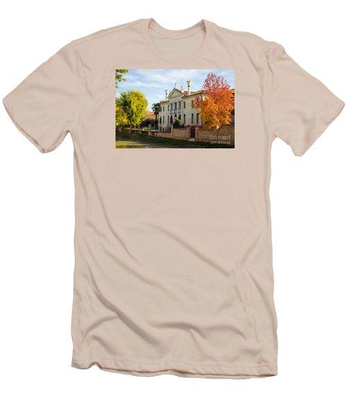 Italian Villa Men's T-Shirt (Athletic Fit)