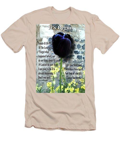 It's Begun Men's T-Shirt (Athletic Fit)