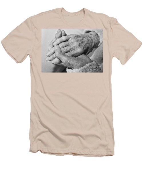 Jan's Hands Men's T-Shirt (Athletic Fit)