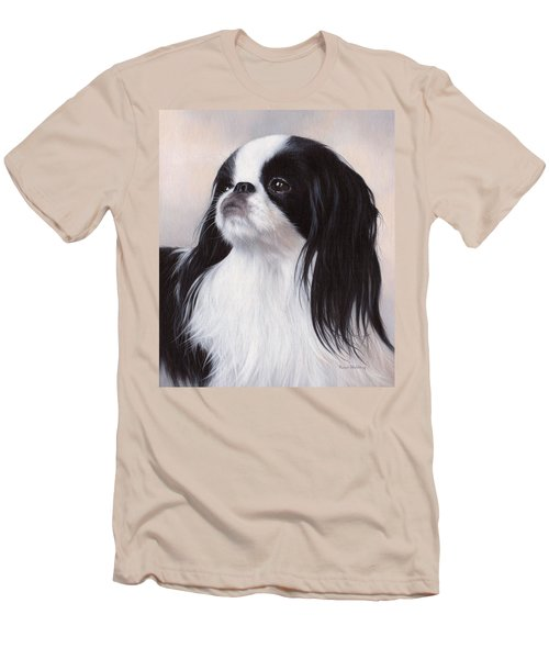Japanese Chin Painting Men's T-Shirt (Athletic Fit)