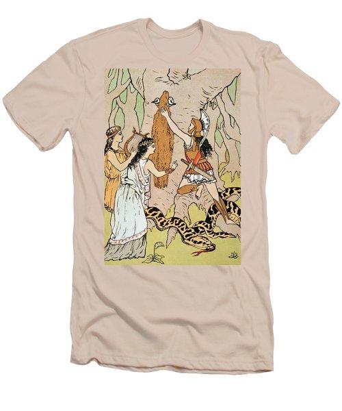 Jason Seizing The Golden Fleece Men's T-Shirt (Athletic Fit)