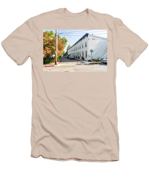 Men's T-Shirt (Slim Fit) featuring the photograph Jeremys Way by Charles Kraus