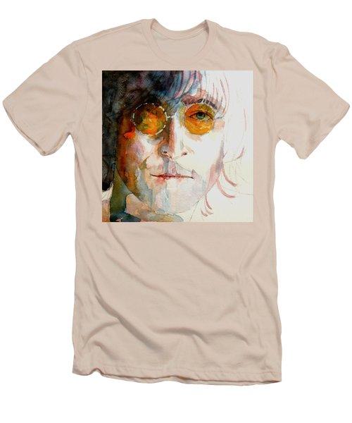 John Winston Lennon Men's T-Shirt (Athletic Fit)