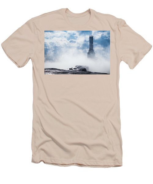 Just Cold And Disappear Men's T-Shirt (Athletic Fit)