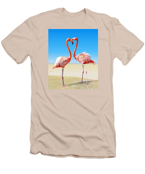 Just We Two Men's T-Shirt (Slim Fit) by Kristin Elmquist