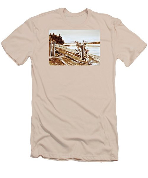Ketron Island Men's T-Shirt (Athletic Fit)