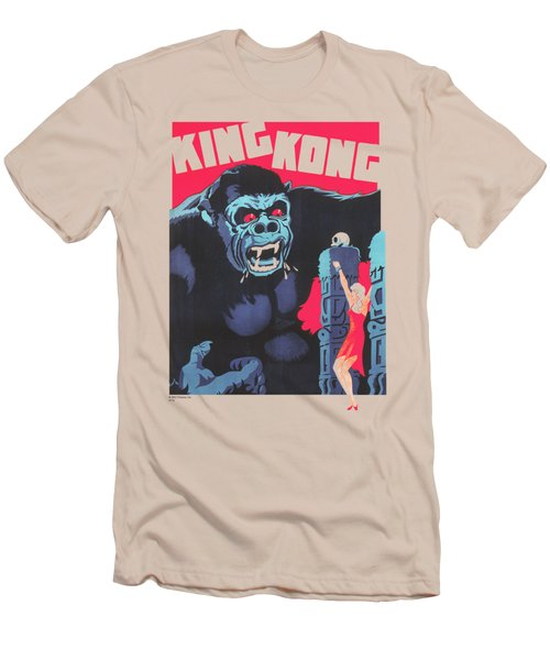 King Kong - Bright Poster Men's T-Shirt (Athletic Fit)