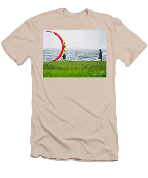 Kite Boarder Men's T-Shirt (Athletic Fit)