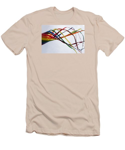 Men's T-Shirt (Slim Fit) featuring the photograph Kite  by Susan  McMenamin