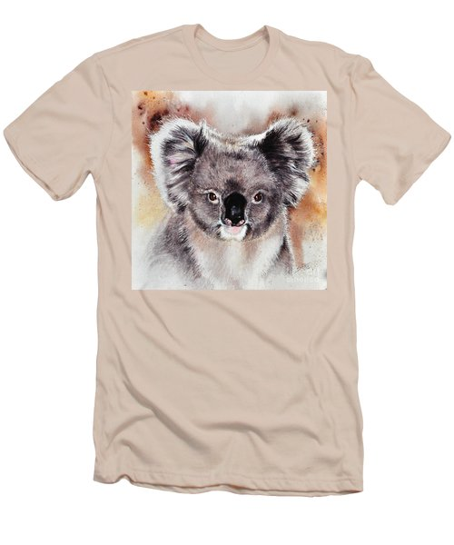 Koala  Men's T-Shirt (Slim Fit) by Sandra Phryce-Jones