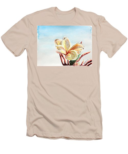 Laguna Flower Men's T-Shirt (Athletic Fit)