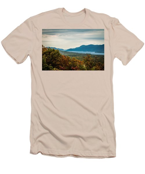 Lake George Men's T-Shirt (Athletic Fit)