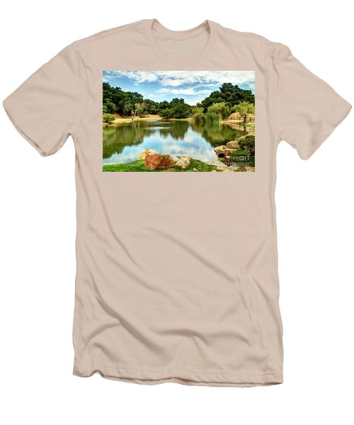 Lake Lucky Men's T-Shirt (Athletic Fit)