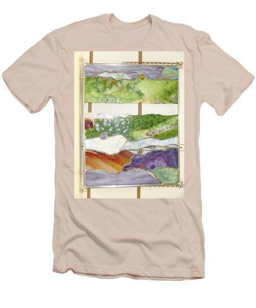 Landscape 2 Men's T-Shirt (Athletic Fit)
