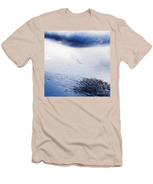 Langjokull Men's T-Shirt (Slim Fit) by Gunnar Orn Arnason