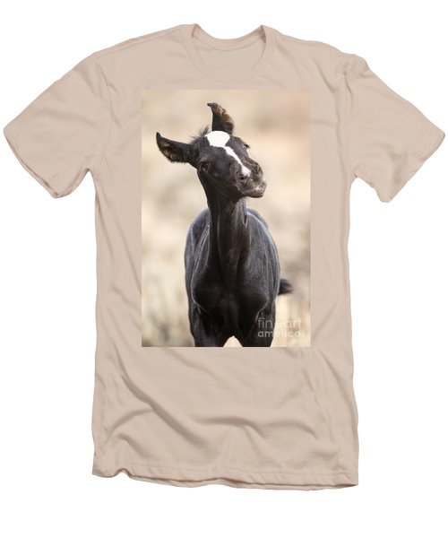 Lansa - A Wild Mustang Colt Men's T-Shirt (Athletic Fit)