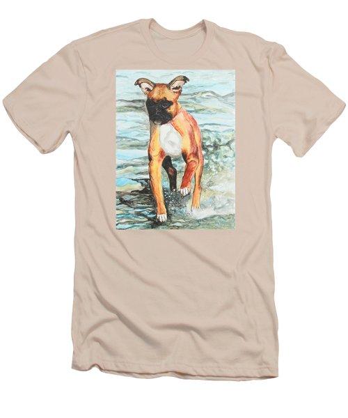 Leyla Men's T-Shirt (Slim Fit) by Jeanne Fischer