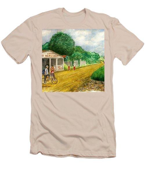Limon Costa Rica Men's T-Shirt (Slim Fit) by Frank Hunter