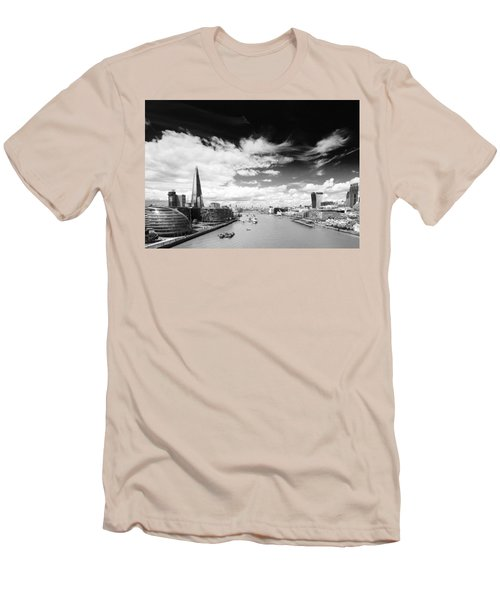 London Panorama Men's T-Shirt (Slim Fit) by Chevy Fleet