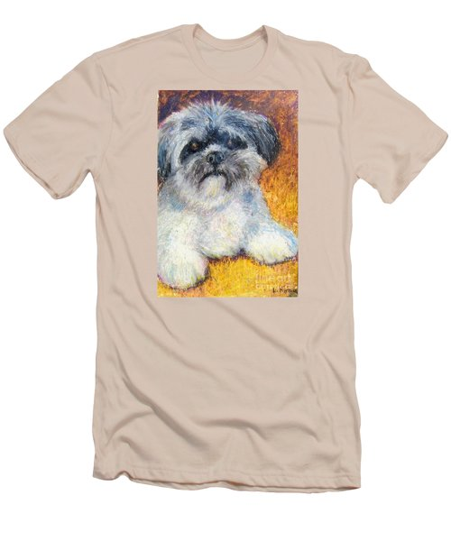 Love My Lhasa Men's T-Shirt (Athletic Fit)