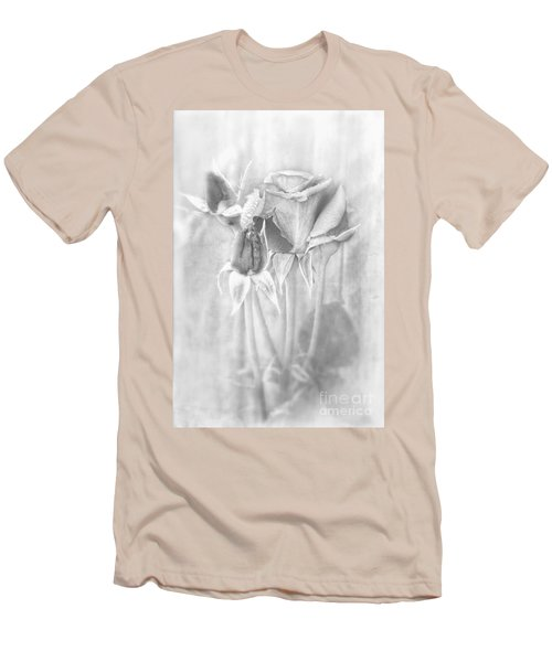 Men's T-Shirt (Slim Fit) featuring the photograph Loveliness by Peggy Hughes