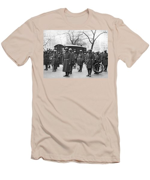 Lt. James Reese Europe's Band Men's T-Shirt (Slim Fit) by Underwood Archives