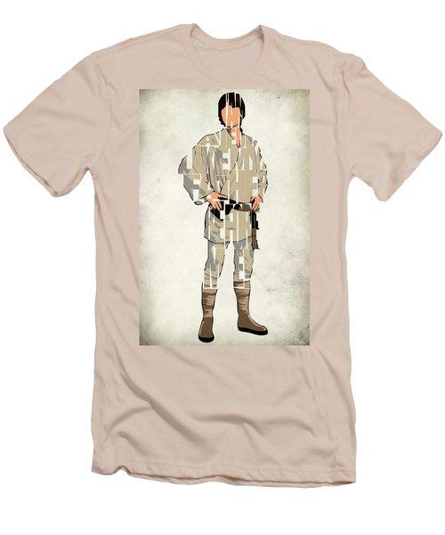 Luke Skywalker - Mark Hamill  Men's T-Shirt (Athletic Fit)