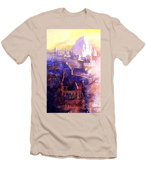 Machu Pichu- Peru Men's T-Shirt (Athletic Fit)
