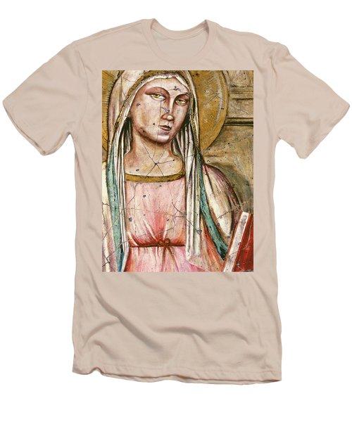 Madonna Del Parto - Study No. 1 Men's T-Shirt (Athletic Fit)