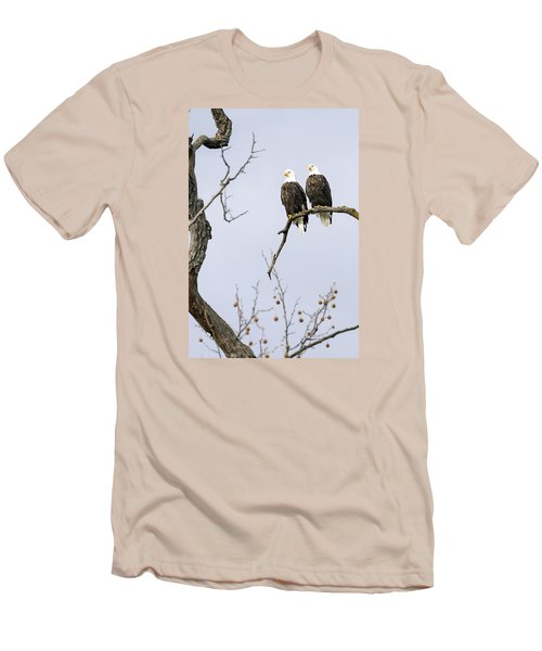 Men's T-Shirt (Slim Fit) featuring the photograph Majestic Beauty 1 by David Lester