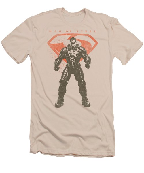 Man Of Steel - Faded Zod Men's T-Shirt (Athletic Fit)
