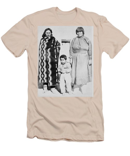 Men's T-Shirt (Slim Fit) featuring the photograph Maria Martinez (1887-1980) by Granger