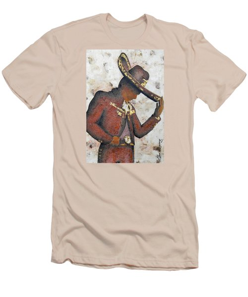 Mariachi  II Men's T-Shirt (Slim Fit) by J- J- Espinoza