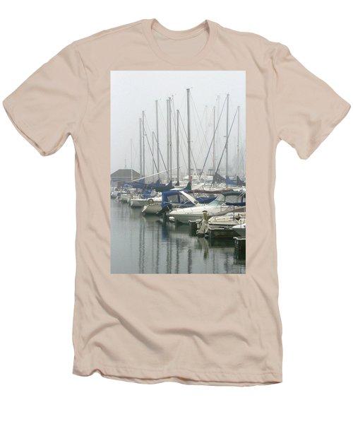 Marina Reflections Men's T-Shirt (Slim Fit) by Kay Novy