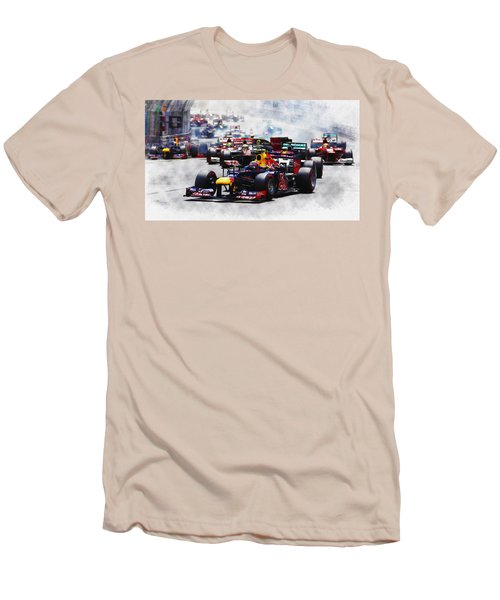 Mark Webber Men's T-Shirt (Athletic Fit)