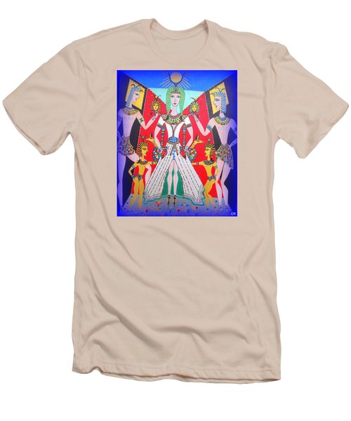 Metamorphosis Of Melisa Into Nefertiti Men's T-Shirt (Slim Fit) by Marie Schwarzer