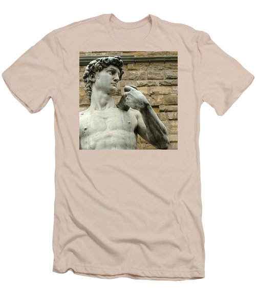 Michelangelo's David 1 Men's T-Shirt (Athletic Fit)