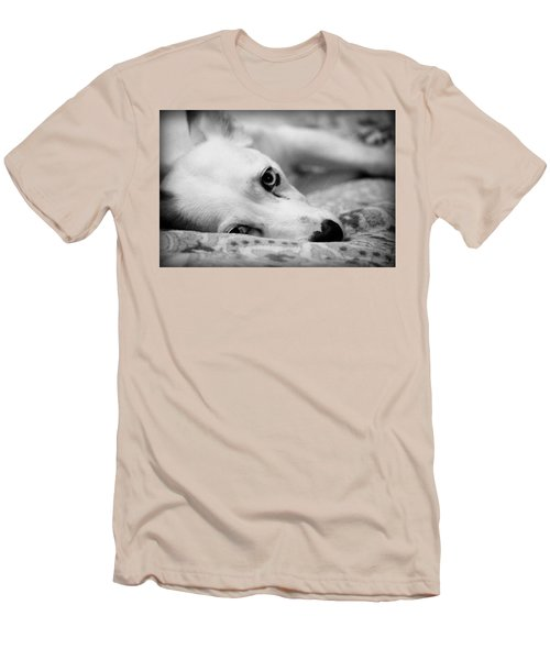 Men's T-Shirt (Slim Fit) featuring the photograph Miss Donut  by Faith Williams