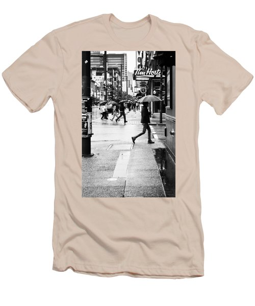 Missed Coffee Men's T-Shirt (Athletic Fit)