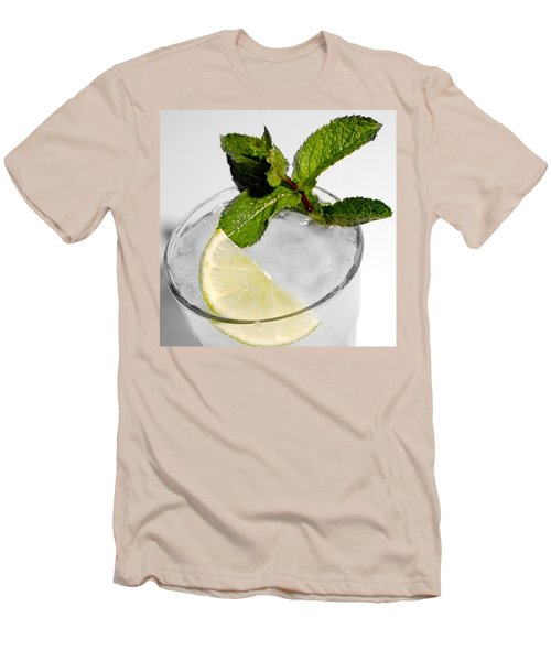 Mojito Detail Men's T-Shirt (Athletic Fit)