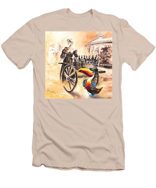 Molly Malone Men's T-Shirt (Slim Fit) by Miki De Goodaboom