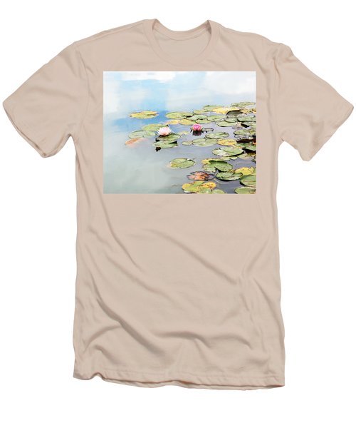 Men's T-Shirt (Slim Fit) featuring the photograph Monet's Garden by Brooke T Ryan