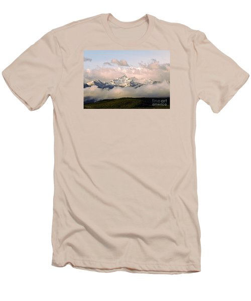 Montana Mountain Men's T-Shirt (Slim Fit) by Joseph J Stevens