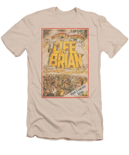 Monty Python - Brian Poster Men's T-Shirt (Slim Fit) by Brand A